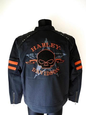 Harley Davidson Boss Skull Hommes Veste 97437 15VM Extra Large XL