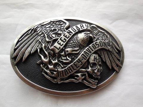 harley davidson legendary eagle g rtelschnalle buckle. Black Bedroom Furniture Sets. Home Design Ideas