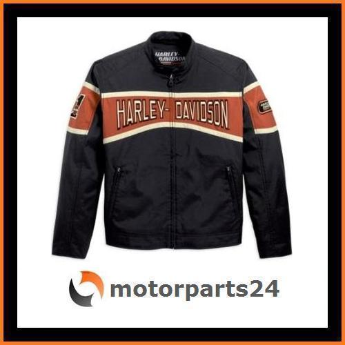 harley davidson motor racing jacke 98243 10vm xl ebay. Black Bedroom Furniture Sets. Home Design Ideas