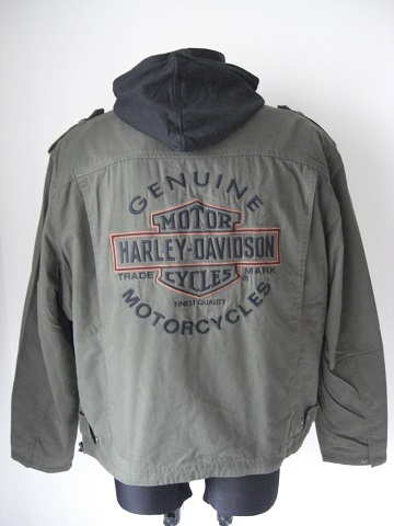 harley davidson road warrior 3 in 1 jacket with hoodie. Black Bedroom Furniture Sets. Home Design Ideas