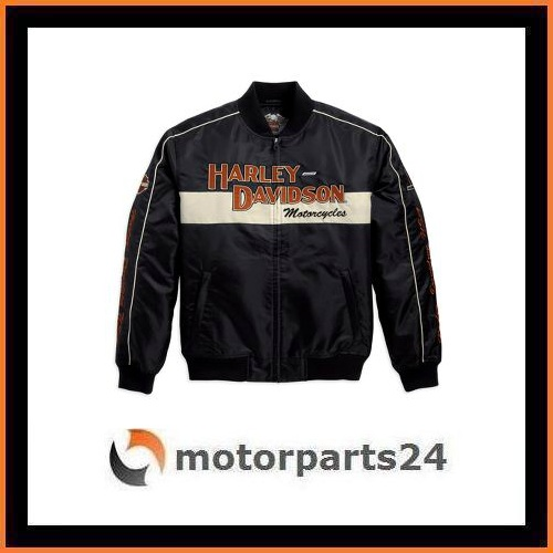 harley davidson prestige bomber jacke fliegerjacke. Black Bedroom Furniture Sets. Home Design Ideas