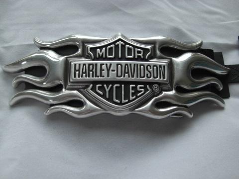 harley davidson g rtelschnalle flame buckle 99555 04v. Black Bedroom Furniture Sets. Home Design Ideas